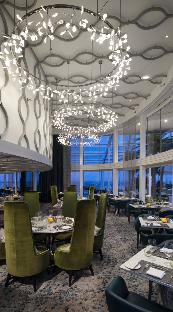 Vacationers booked in luxury Silver Suites on board Spectrum of the Seas will have keycard access to a private enclave, along with a dedicated restaurant and lounge.
