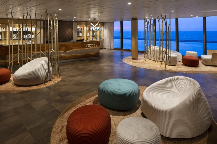 The Body & Mind Spa on board Spectrum of the Seas.