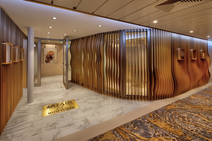Golden and Silver suite guests on board Spectrum of the Seas can enjoy exclusive benefits including a private shopping experience at The Boutique.