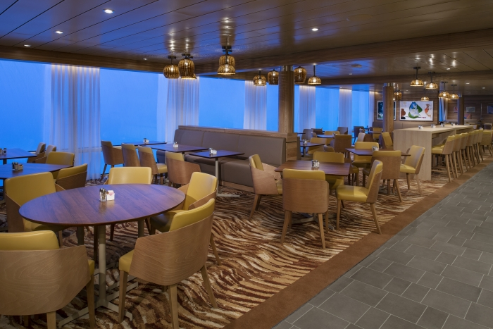 The Windjammer on board Spectrum of the Seas is your one-stop shop for diverse dining.