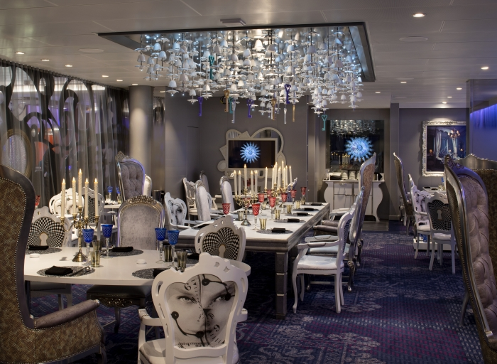 Be transported to Wonderland's Dadong – the newest outpost of world-renowned Chinese chef Dong Zhenxiang – only onboard Spectrum of the Seas.