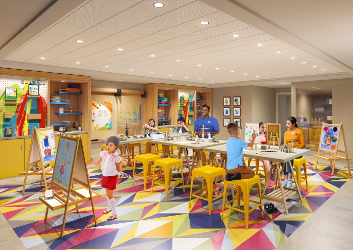 July 2019 – The award-winning Adventure Ocean program will be reimagined from top to bottom on board Allure and Oasis of the Seas. Younger kids can choose their own immersive adventures across entirely new areas, including Workshop. Workshop will offer a variety of activities ranging from hands-on art, science and tech fun.