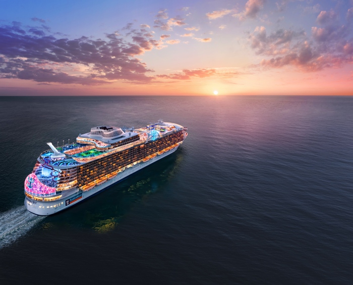 October 2019 – The next ship to join the leading cruise line's innovative lineup will be named Wonder of the Seas and set sail from Shanghai – its year-round home.