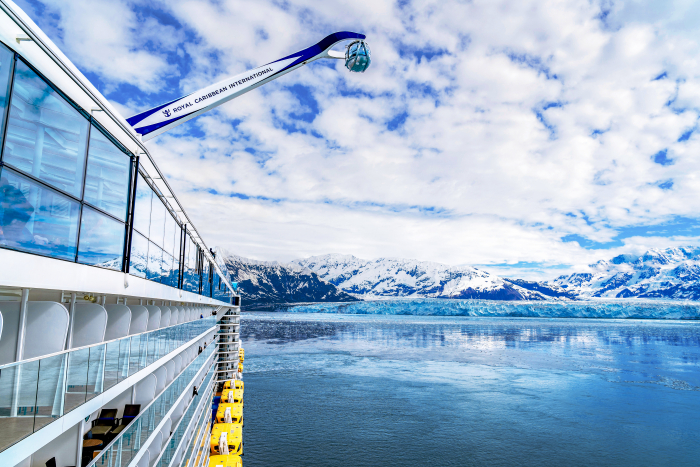 November 2019 – Ovation of the Seas sets sail in Alaska as the largest, most innovative cruise ship in the region. Cruises in the Last Frontier reach new heights with the ship's 360-degree views of the jaw-dropping landscape from the North Star – the all-glass observation capsule that soars 300 feet above the ocean.