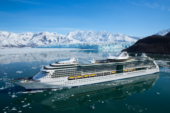 Radiance of the Seas offers guests ocean-facing windows, 19 restaurants, cafes, lounges and bars – including favorites like Chops Grille and Giovanni's Table – a rock-climbing wall and mini golf.