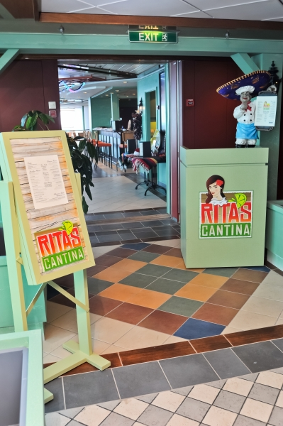 June 2011 - Rita's Cantina, a Mexican style eatery onboard Radiance of the Seas.
