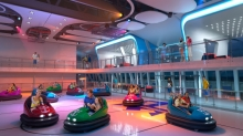 On Royal Caribbean&rsquo;s <em>Quantum of the Seas </em>and&nbsp;<em>Anthem of the Seas</em>, SeaPlex will feature the first-ever bumper car experience at sea, providing fun and thrills for guests of all ages.