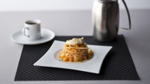 The height of contemporary cuisine is realized at Chic. Featuring menu items such as the Plum Mille Feuille.