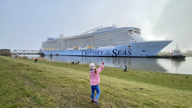 Odyssey of the Seas the Incredible Journey of Conveyance