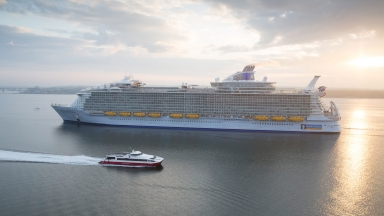 First Look: World's Largest Ship, Harmony of the Seas