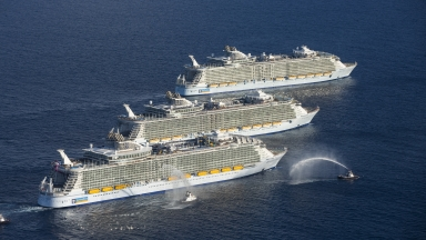 World's Largest Cruise Ship Arrives In U.S. For The First Time