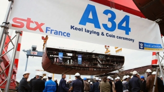 Royal Caribbean Announces Oasis IV at Oasis III Keel Laying EPK