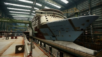 Quantum of the Seas Construction Update: Royal Caribbean's Newest Ship Takes Shape