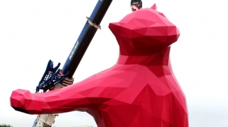 Polar Bear Sighting: Royal Caribbean's Art Piece is Larger Than Life
