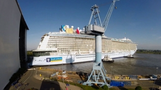 <i>Quantum of the Seas</i> Technology Reveal Sizzle