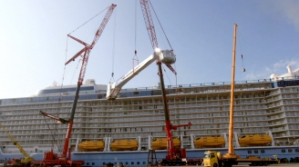 Engineering A Unique View: Installing Quantum of the Seas' North Star