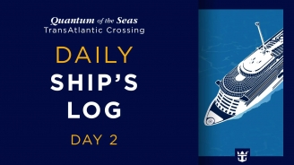 Day 2 Quantum of the Seas Transatlantic Crossing: Shaun De Wit