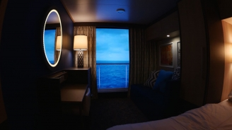 Every Room has a View: An Inside Look at Quantum of the Seas' Virtual Balconies