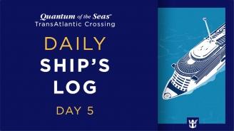 Day 5 Quantum of the Seas Transatlantic Crossing: Carola Mengolini
