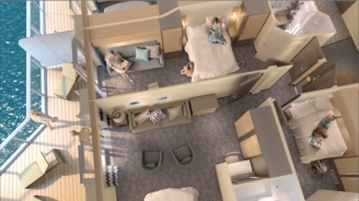 Quantum of the Seas Family-Connected Staterooms B-roll