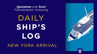 Day 9 Quantum of the Seas Transatlantic Crossing: New York Arrival