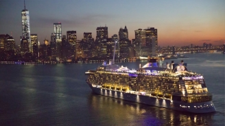 Quantum of the Seas New York Arrival B-roll