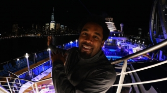 Dhani Jones on Quantum of the Seas in NYC