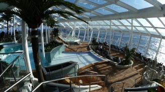 Quantum of the Seas Solarium B-roll