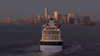 Quantum of the Seas - New York Skyline Aerials