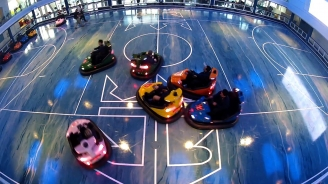 Behind the Wheel: Bumper Car Fun at Royal Caribbean's SeaPlex