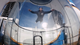 Adventure Above Sea Level: Soaring on Royal Caribbean's Ripcord by iFLY