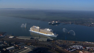 Anthem of the Seas arrives in Southampton: Royal Caribbean Introduces its Next Great Adventure