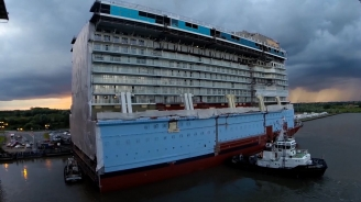 Anthem of the Seas Construction B-roll