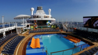 Anthem of the Seas Pools B-roll