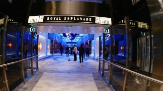 Royal Esplanade on Quantum of the Seas