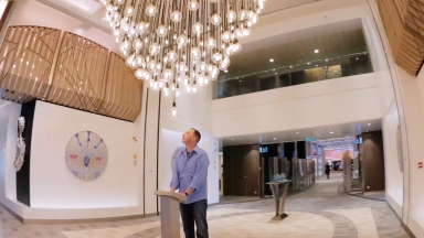 Anthem of the Seas Instaship - Pulse Art Installation