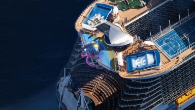 Plunging into Adventure on the Tallest Slide at Sea: Royal Caribbean Reveals 10 story Ultimate Abyss