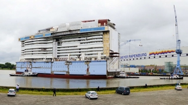 Construction Countdown: Ovation of the Seas Nears Completion in Germany