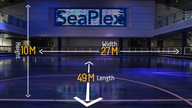 SeaPlex on Quantum class Vinfographic