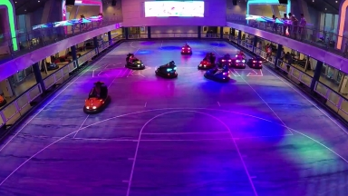 #FitAdventure on #AnthemoftheSeas Bumper Cars