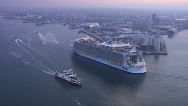 Harmony of the Seas Southampton Arrival EPK