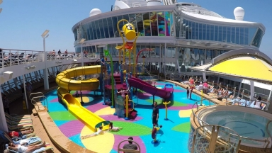 Harmony of the Seas Splashaway Bay B-Roll