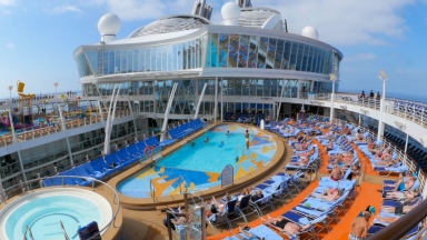 Harmony of the Seas Pool Deck B-Roll
