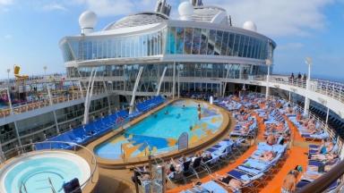 Harmony of the Seas Pool Deck B-Roll