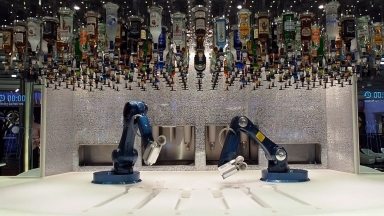 Ovation of the Seas Bionic Bar B-roll