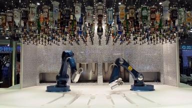 Ovation of the Seas Bionic Bar B-roll