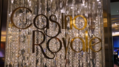 Ovation of the Seas Casino Royale B-roll