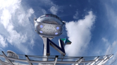 Ovation of the Seas North Star B-roll
