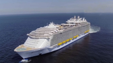 Harmony of the Seas By The Numbers