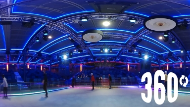 360 Disco Ice Skating on Harmony of the Seas